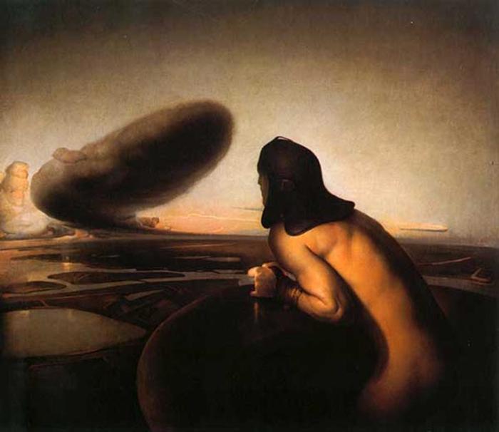 La Nube, Odd Nerdrum (Foto servida)